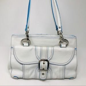 Isabella Fiore large leather satchel purse